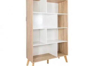 Biblioteca blanco MDP Moden