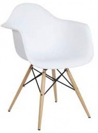 Butaca Eames Blanca