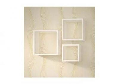 Cubos blanco MDF