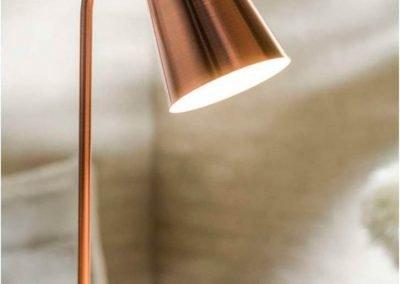 Lámpara de mesa Brooklyn cobre