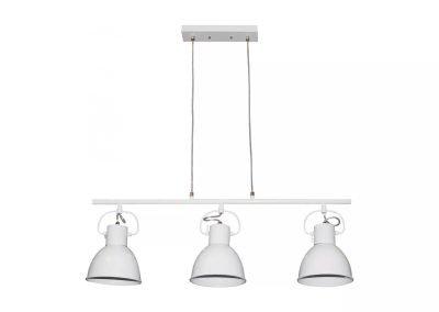 Lámpara de techo metal blanco 1