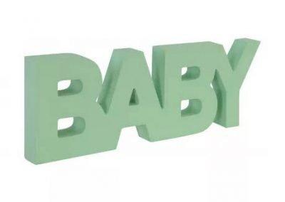 Letrero bebé