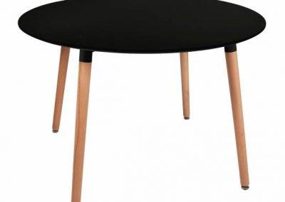 Mesa comedor Eames negra