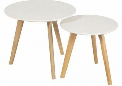 Mesas ratonas Eames