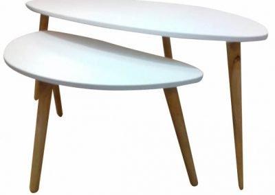 Mesas ratonas Eames x2