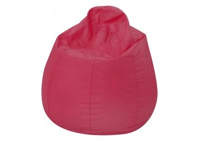 Puff Fofo cuero sintético rosa