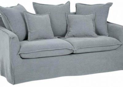 Sofá Ethan Dsenfundable 3c gris